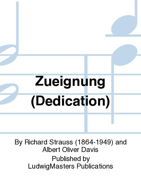 Zueignung (Dedication)