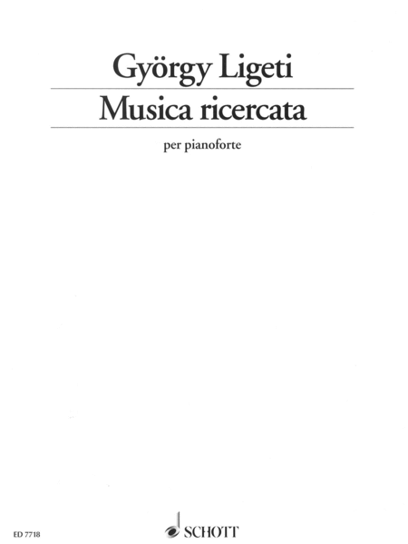 Musica Ricercata (1951-53)