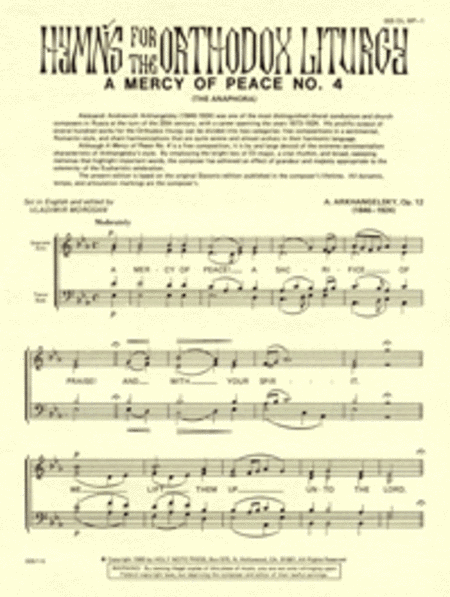 A Mercy of Peace (No. 4)