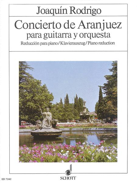 Concierto De Aranjuez, Guitar/Piano