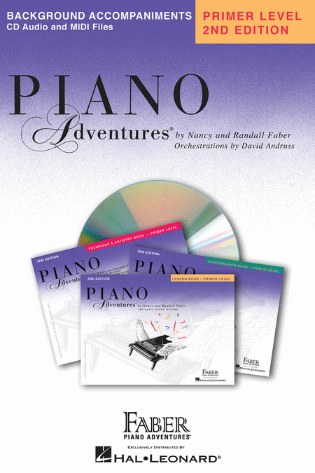 Piano Adventures Primer Level - Lesson Book CD
