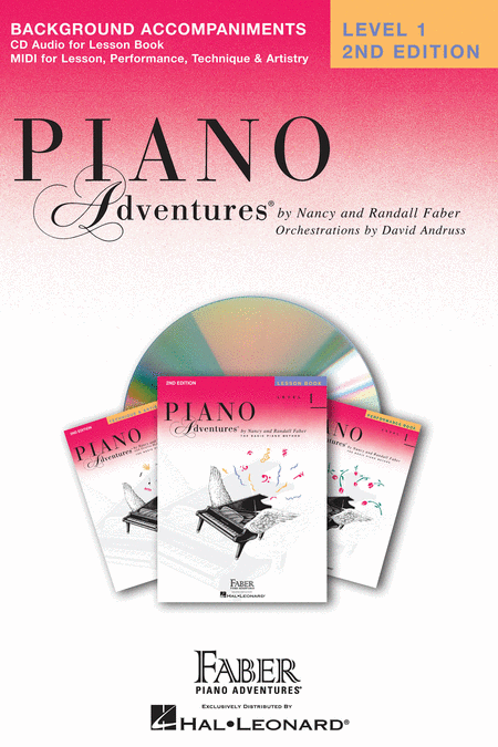 Piano Adventures Level 1 - Lesson CD
