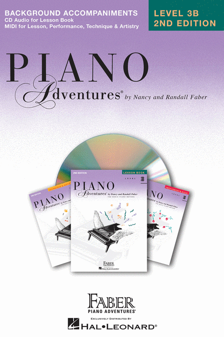 Piano Adventures Level 3B - Lesson CD