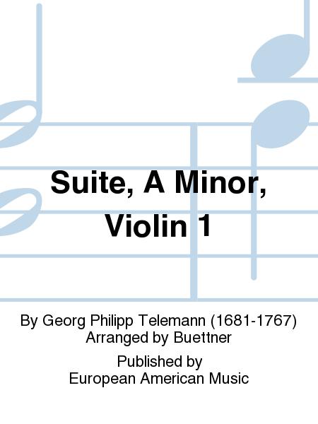 Suite, A Minor, Violin 1