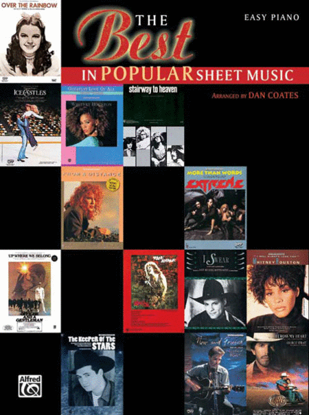 Best In Popular Sheet Music