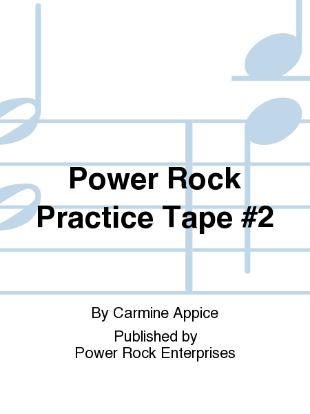 Power Rock Practice Tape #2