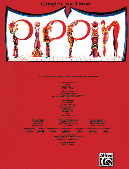 Pippin (Vocal Score)