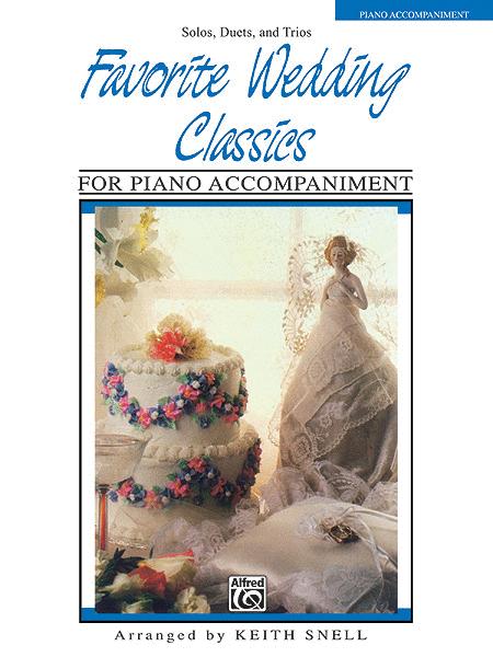 Favorite Wedding Classics - Piano Accompaniment Part