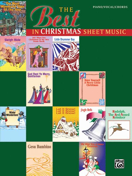 Best In Christmas Sheet Music