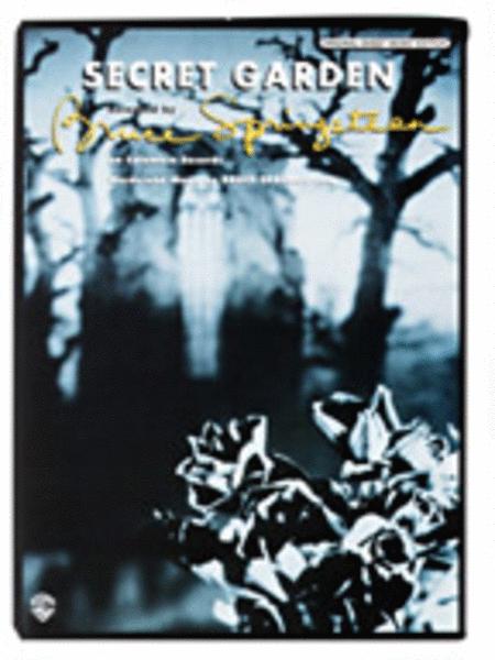 Secret Garden Sheet Music By Bruce Springsteen Sheet Music Plus