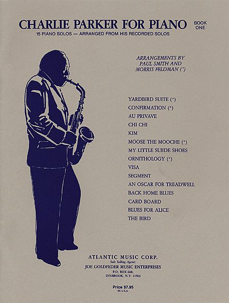 Charlie Parker for Piano, Book 1