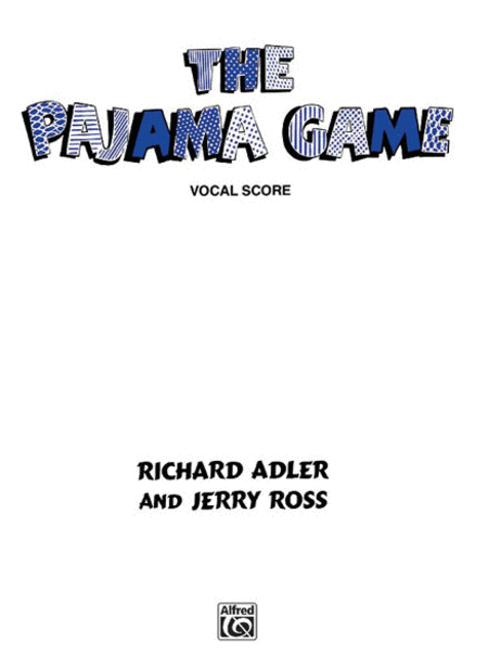 Pajama Game - Vocal Score
