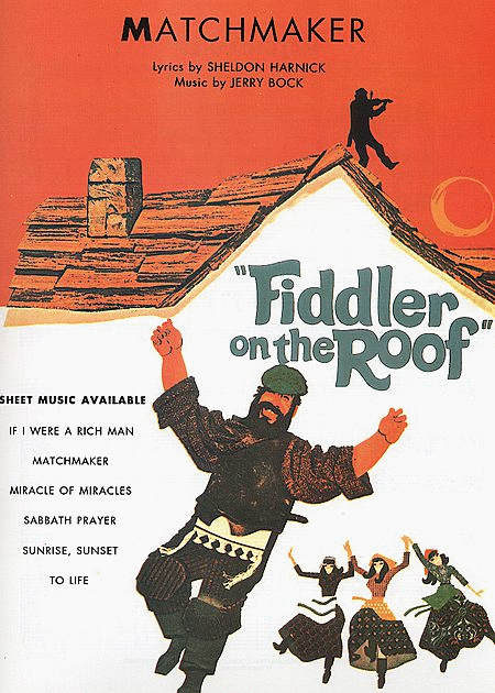 Matchmaker From Fiddler On The Roof Sheet Music Sheet