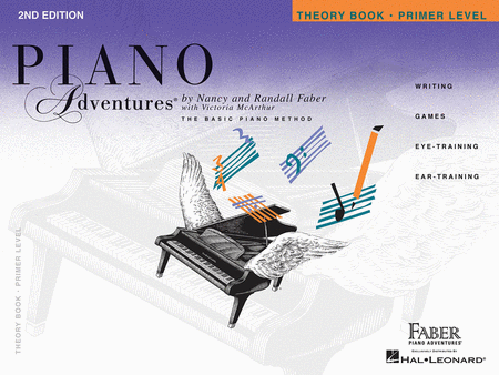 Piano Adventures Primer Level - Theory Book (2nd Edition)