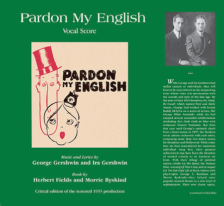 Pardon My English