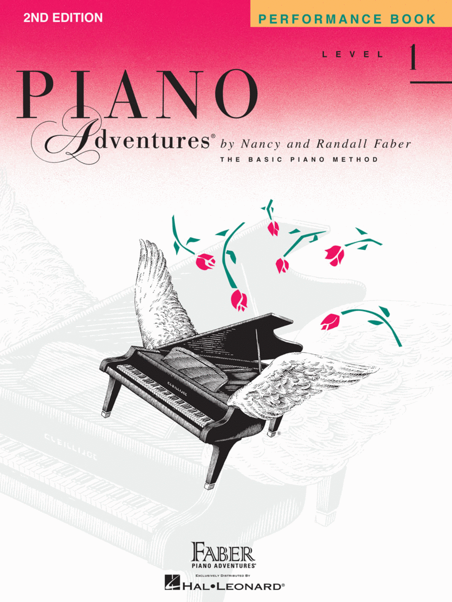 Piano Adventures Level 1 - Performance Book (2nd Edition)