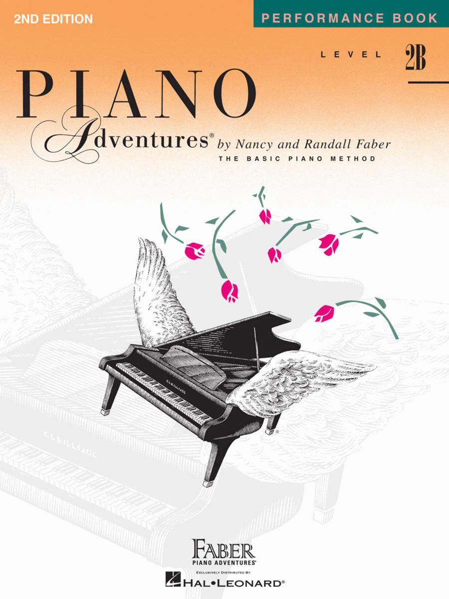 Piano Adventures Performance Book, Level 2B