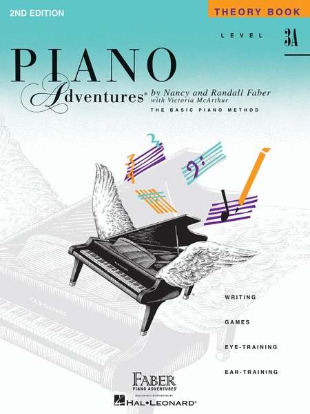 Piano Adventures Level 3A - Theory Book