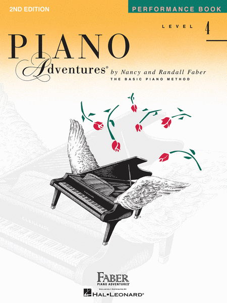 Piano Adventures Level 4 - Performance Book