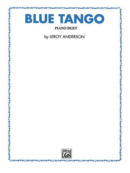 Blue Tango - 1 Piano/4 Hands
