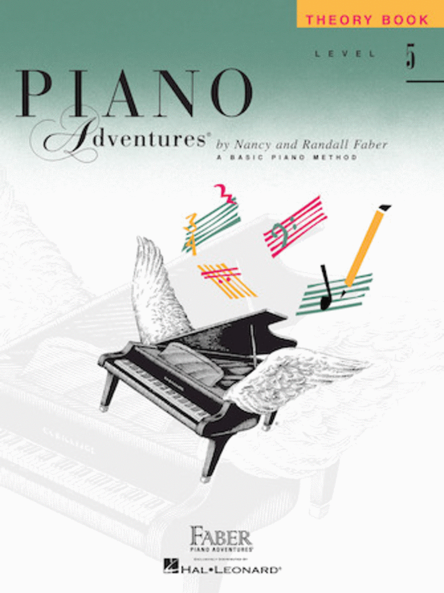 Piano Adventures Level 5 - Theory Book
