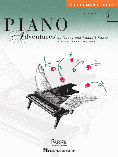 Piano Adventures Level 5 - Performance Book