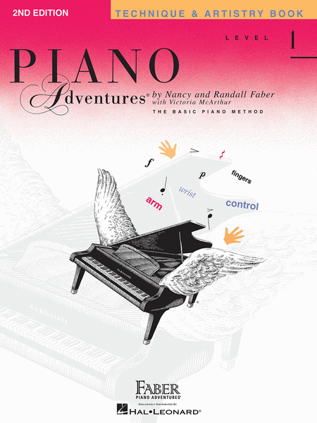 Piano Adventures Level 1 - Technique & Artistry Book (2nd Edition)