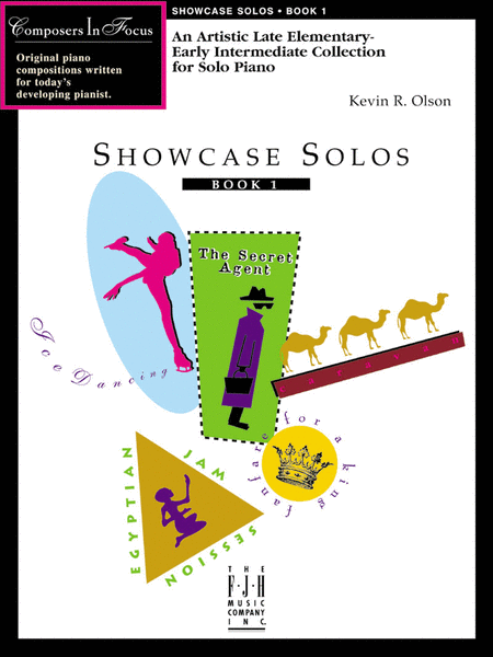 Showcase Solos, Book 1