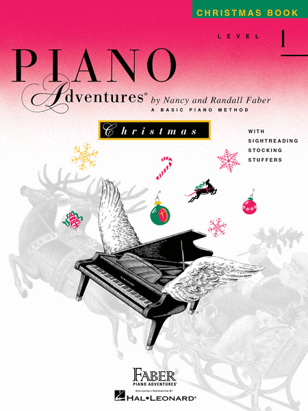 Piano Adventures Level 1 Christmas Book Sheet Music By