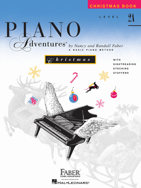 Piano Adventures Level 2A - Christmas Book