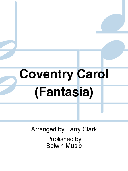 Coventry Carol (Fantasia)
