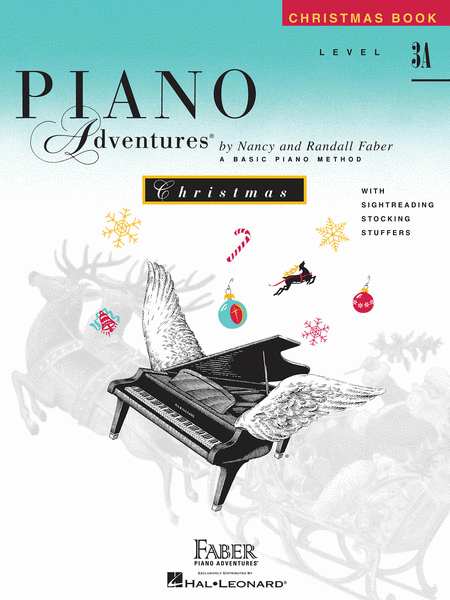 Piano Adventures Level 3A - Christmas Book