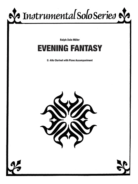Evening Fantasy - Eb Alto Clarinet & Piano