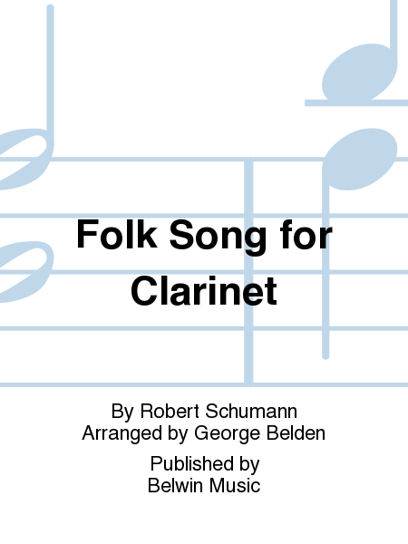 Folk Song for Clarinet