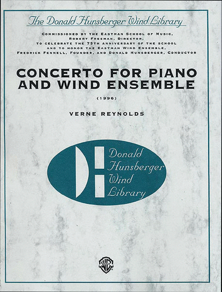 Concerto for Piano and Wind Ensemble (1966)