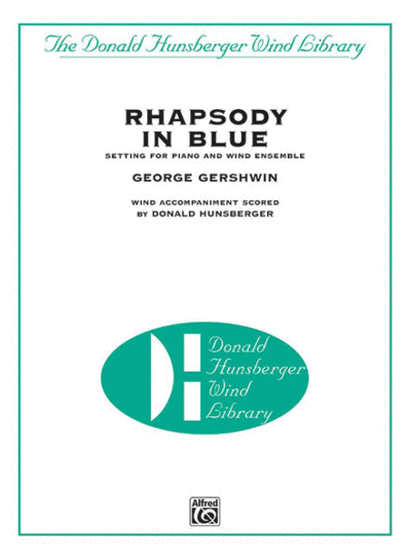Rhapsody in Blue (Setting for Piano and Wind Ensemble)