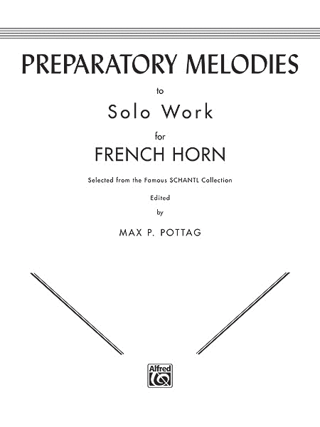 Preparatory Melodies to Solo Work for Horn