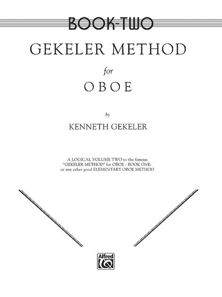 Gekeler Method for Oboe - Book 2