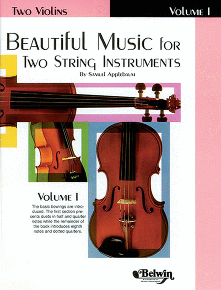 Beautiful Music For Two String Instruments, Volume I