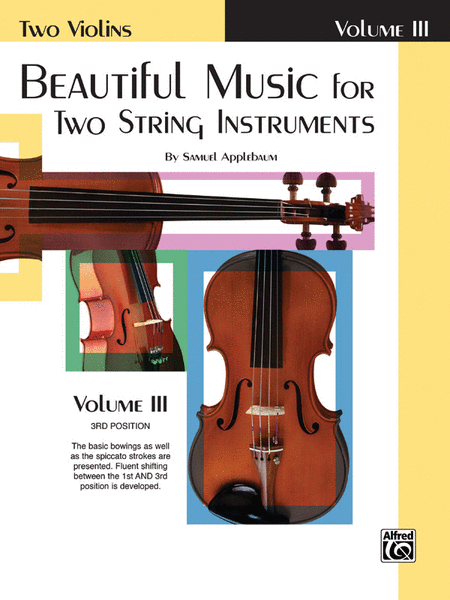 Beautiful Music for Two String Instruments, Book 3