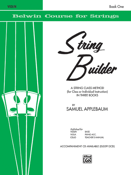 Belwin String Builder - Violin, Book 1