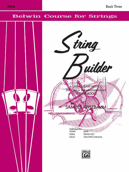 String Builder, Book 3
