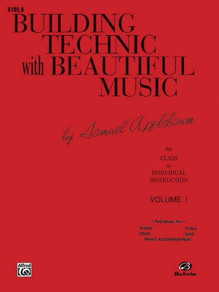 Building Technic with Beautiful Music - Volume I (Viola)