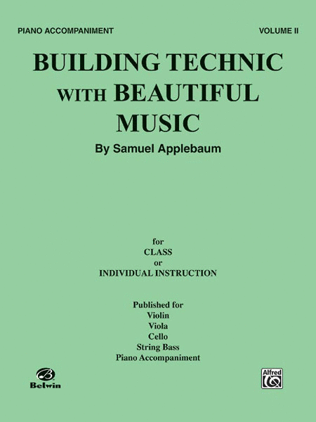 Building Technic with Beautiful Music - Volume II (Piano Accompaniment)