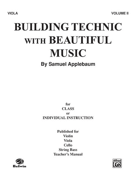 Building Technic with Beautiful Music - Volume II (Viola)