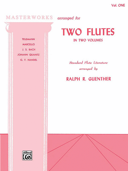 Masterworks for Two Flutes, Book 1