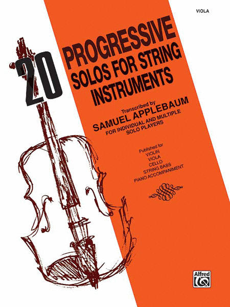 20 Progressive Solos for String Instruments - Viola