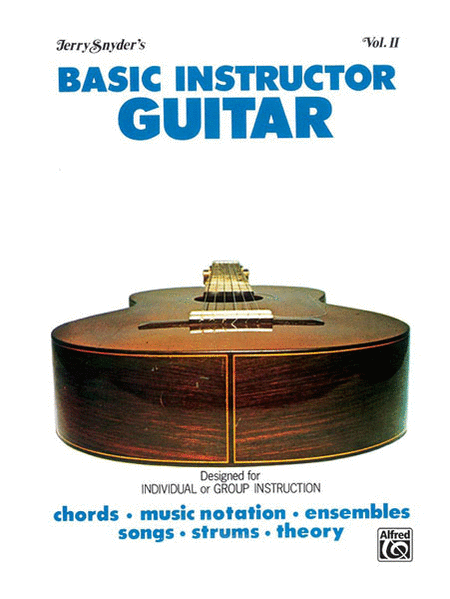 Basic Instructor Guitar, Volume 2