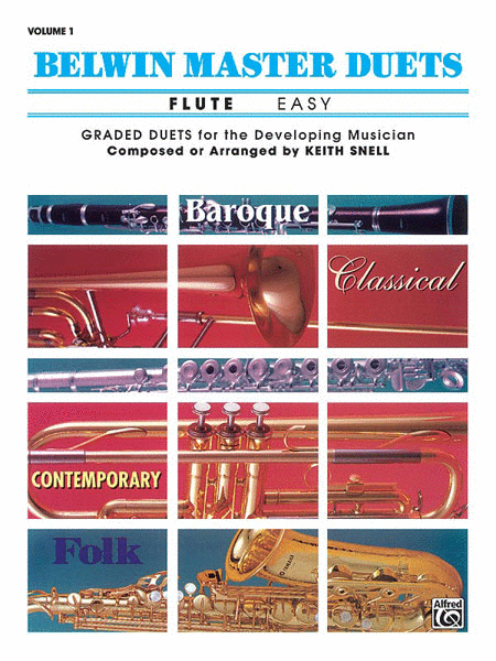 Belwin Master Duets (Flute), Volume 1
