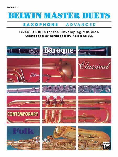 Belwin Master Duets (Saxophone), Volume 1